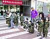 搶救黃色小鴨 老中小一「漆」來 南臺科大舉辦幼兒漆彈體驗國防活動