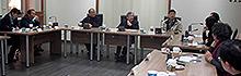 南臺科大辦理「台南區技職教育策略聯盟夥伴學校座談會」八所國中校長與輔導室主任至南臺科大體驗技職教育