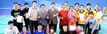 南臺科技大學慶祝45週年校慶 百位校友返校參賽 「校友盃羽球錦標賽」