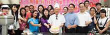 南臺科技大學舉辦母親節孝親感恩蛋糕裝飾活動 媽媽咪呀 LINE(愛)您呦