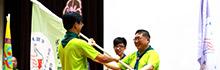 南臺科技大學於參加國立臺南大學附屬啟聰學校舉辦 身心障礙學生全國大露營