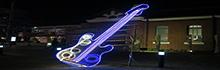 臺南文創園區展現在地工藝創作 結合傳統與時尚打造竹編『電吉他』