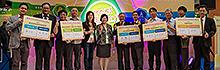2016年台北國際發明暨技術交易展 南臺科技大學23件精銳作品進行展出