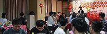 雞年迎新春 校園洋溢多元文化氣息 南臺科技大學舉辦僑陸生106年春節聯歡餐會