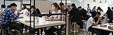 南臺科技大學學生餐廳重新裝璜開幕 師生驚豔