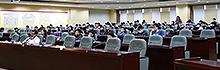 南臺科技大學邀請台灣意象書法大師陳世憲暢談 「大筆寫初衷」 鼓勵學子與全世界做朋友